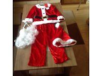 Child's Brand New Santa costume age 3-4