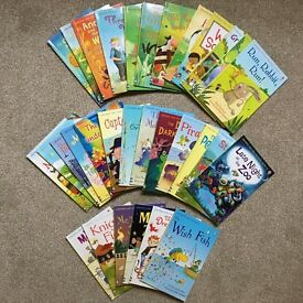 Usborne First Reading Books, used, set of 31 books