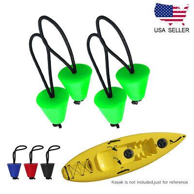 Canoe Kayak Kits - 4PCS Silicone Kayak Scupper Plug Kit Canoe Drain Holes Stopper Bung Accessories