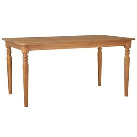 Garden Table 150x90x75 cm Solid Acacia Wood-44255