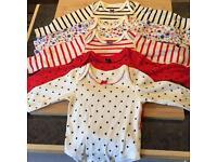 M&S classic 0-3M baby vests
