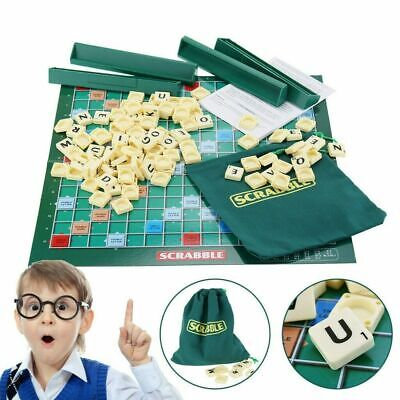Scrabble Original Board Game Adults Kids Vocabulary Educational Toys Family Game