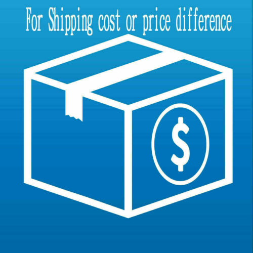 For Extra Shipping Cost,Price Difference