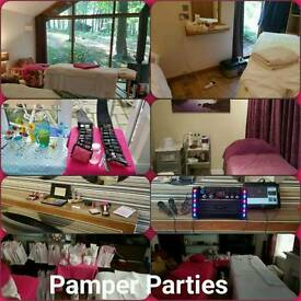 Pamper Parties for Ladies and Girls