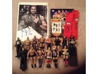 W.W.E collectors bundle - worth £250