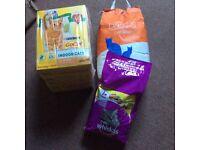 Cat food and cat litter bundle