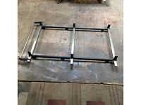 Ford transit connect (high roof) roof rack with roller bar