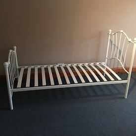 As new single bed frame for sale