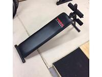 York Adjustable Decline/Sit-up bench