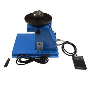 USED!!! 10KG Welding Positioner Turntable with 65mm Chuck 251028
