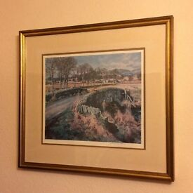 Three beautiful signed framed Prints by McIntosh Patrick