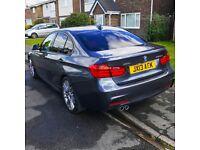 2014 BMW 3 Series 330D xDrive - M Sport - Grey - Nav - Red Heated Leather - Harmon Kardon