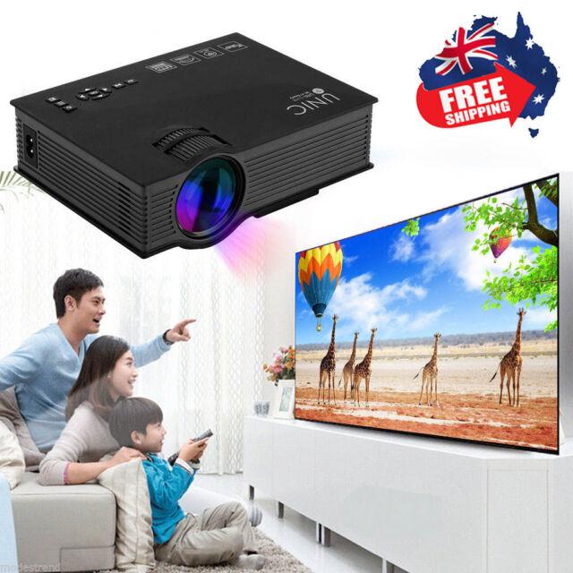 1200Lumen Wifi Full HD 1080P LED Video Projector Wifi Home Theater SD TV/USB/VGA