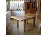Sold Oak Dining Table