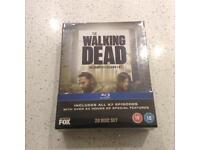 Walking Dead Seasons 1-5 on Blu ray