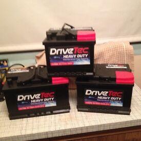Car batteries 063/075/100 types ! Brand new read advert!!