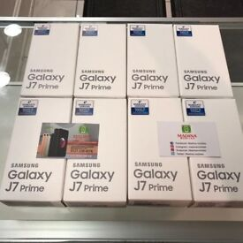 SAMSUNG GALAXY J7 PRIME UNLOCKED BRAND NEW BOXED 32GB COMES WITH WARRANTY AND RECEIPT