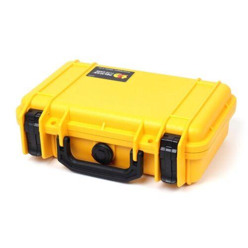 Pelican 1170 Yellow & Black case with foam.