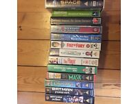 13 VHS Tapes in excellent condition.