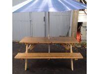 Oversized Garden Table / Bench