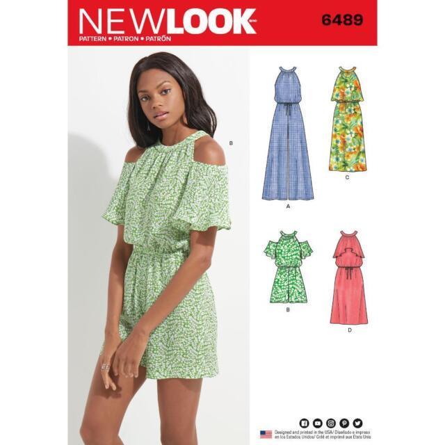 Simplicity 6489 Misses Vintage Long Sleeved Flanged Bodice Dress ...