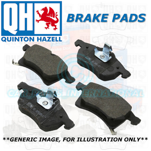 Quinton Hazell QH Front Brake Pads Set OE Quality with Wear Indicator BP1678