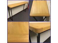 Table/breakfast bar/Wood/steel/Kitchen/Home/business/industrial/welding