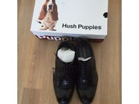 HUSH PUPPIES PUPPY SHOES BLACK NEW SIZE 9