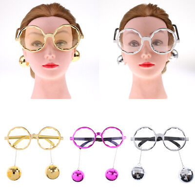 Disco Ball Favors (Shiny Hanging Disco Ball Glasses Eyewear Costume Stag Night Party Gift)
