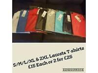 Lacoste T-Shirts Multi colours Cheap