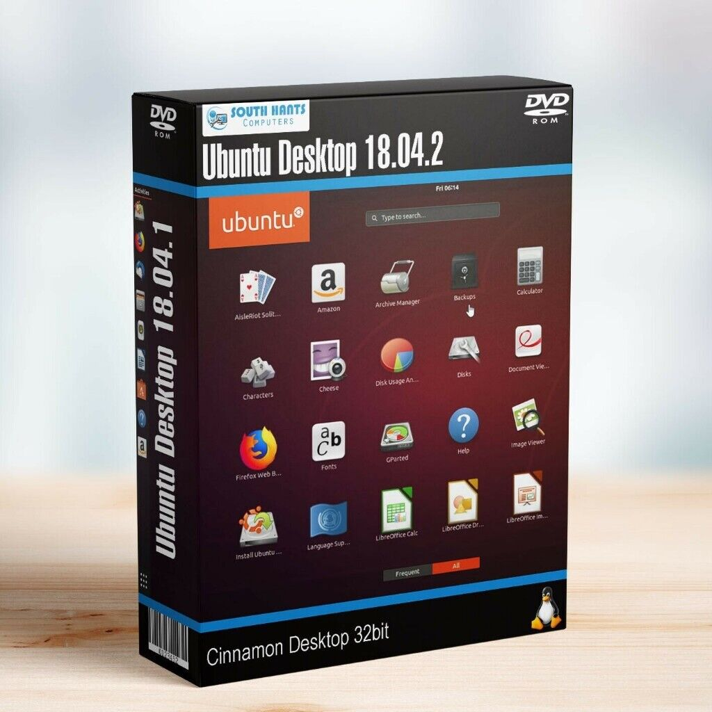 Linux Ubuntu Desktop 18 04 2 64bit Live Bootable DVD Rom Lunix Operating  System | in Emsworth, Hampshire | Gumtree