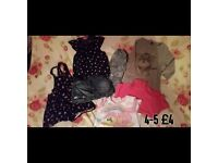 Girls clothes 2-3 - 4-5