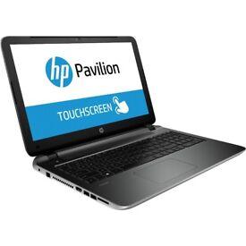 TOUCHSCREEN HP15/ AMD QUAD CORE A4-5000/ 8 GB Ram/ 1 TB HDD/ HDMI/ WEBCAM/ USB 3.0 - WIN 10