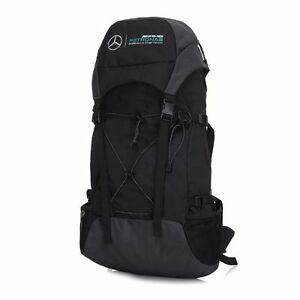OFFICIAL Mercedes AMG Petronas F1 Backpack Rucksack Bag BLACK - NEW