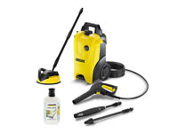 Karcher K4 pressure washer with patio cleaner and detergent NEW