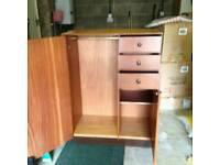 Dwarf wardrobe G plan. Good condition. Can deliver locally
