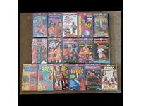 WCW ECW FMW USWA Wrestling VHS Videos for Sale £7 Each