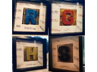 Harry Potter themed frames