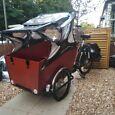 Cargo bike-seats up to four children!