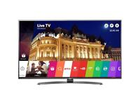 """4K smart LG 43"""" Ultra HD wiFi tv with freeview HD excellent condition"""