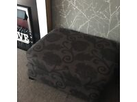 COUTURE DFS Footstool turns into single bed