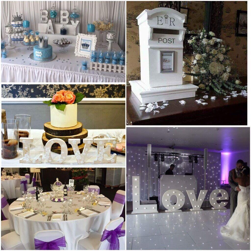 Event Decor London Wedding Decor Postbox Backdrop 4ft Love Letters Favours Chair