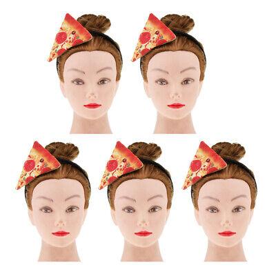 5 stücke Urlaub Erwachsene Kinder Pizza en Stirnbänder Kostüm