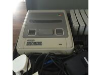 Super Nintendo in Grey Carry Case