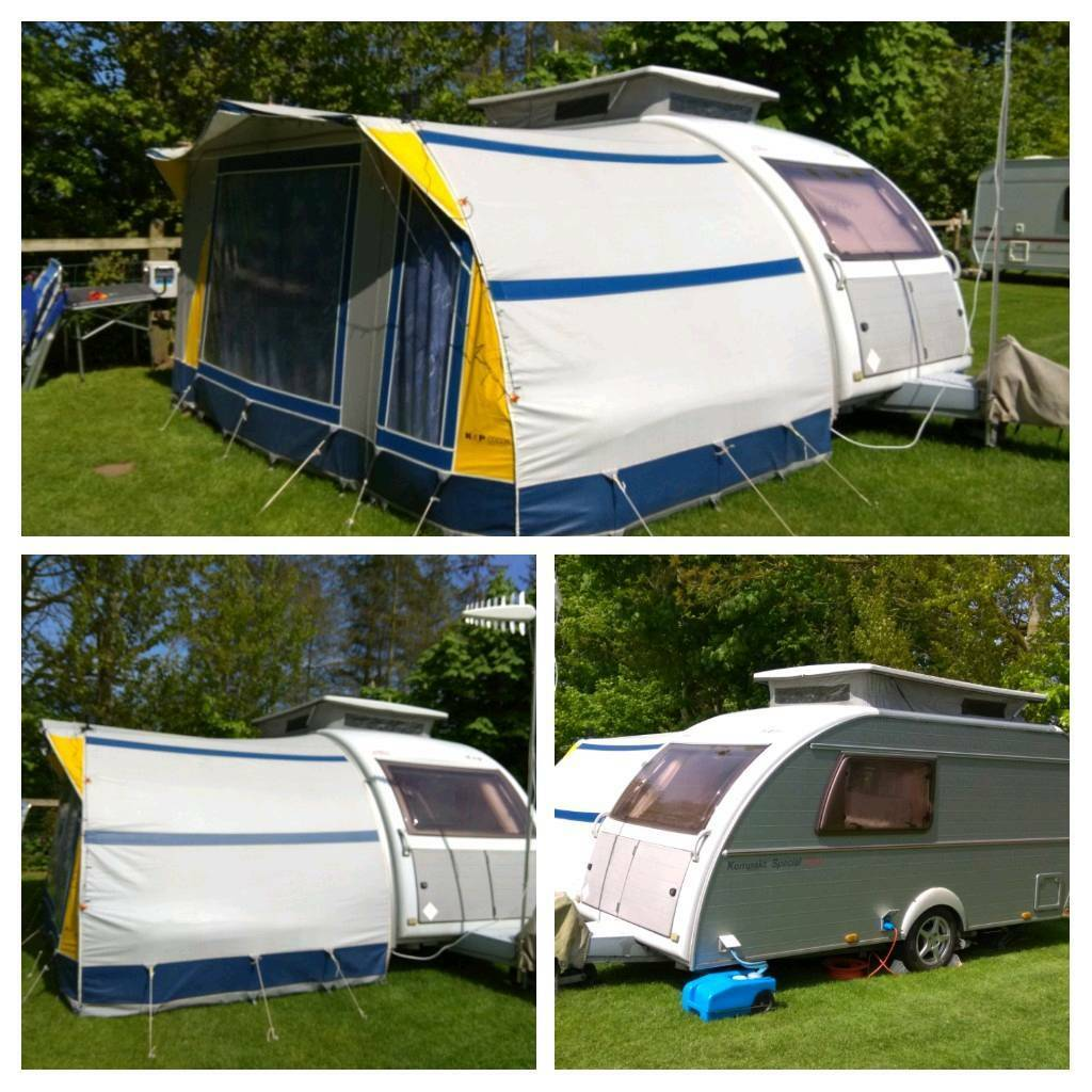 Kip kompakt pop top caravan 2 berth motor mover, full ...