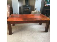 African Wood Coffee Table