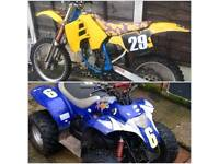 Rm 125 and cobra 100 for your 4STROKE