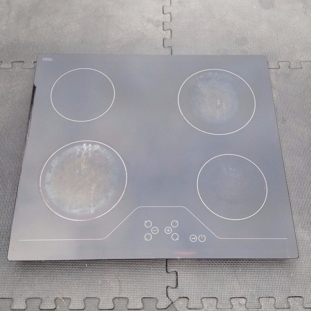 BUSH A60CT CERAMIC ELECTRIC HOBBLACKin Colchester, EssexGumtree - • 4 Cooking zones • Side mounted controls • Dial control • Residual heat indicator • To fit aperture size W56, D49cm • Size W59, D49cm