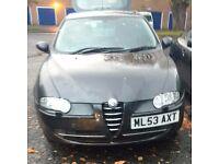 2003 Alfa 147 t spark for sale 60163 miles please read