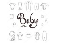 Newborn baby clothes - boys and girls